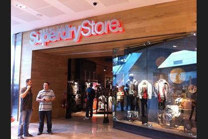 Brands such as Superdry have come to the fore
